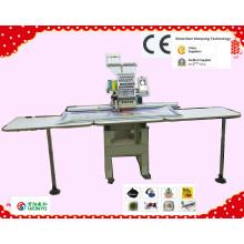 Вышивальная машина с одной головкой для компьютера с сертификатом CE / SGS (WY1201CL / WY1501CL)