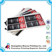 Impresión offset pegatinas personalizadas troqueladas a todo color