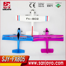 2015 popular modelo Foam RC Glider Electric rc Avión 2.4G RC sailplane SJY-FX805