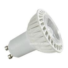 Nuevo Dimmable COB 5W GU10 45degree Lámpara de alta potencia LED