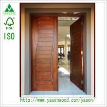 Solid Wood Entrance Door Customized Solid Painting Door