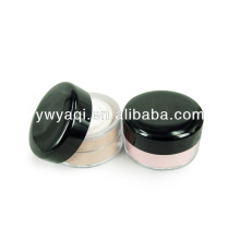 loose powder container with sifter and puff