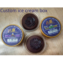 Customized Plastic Disposable Ice Cream Cup (PP cup)