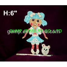 Puppe Mädchen Tiara