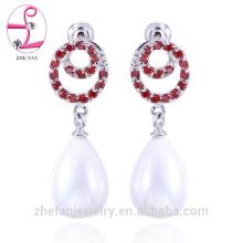 wholesale earrings latest design of pearl earrings