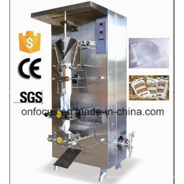 Vertikale automatische Zählsystem-Beutel-kleine Fruchtsaft-Fabrik