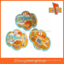 Guanghzhou personalizado impresso prefnmed abnorma irregulares saco bolsa em forma
