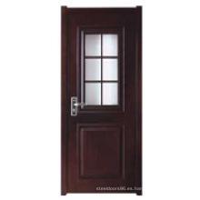 Puerta interior de madera (HDB-025)