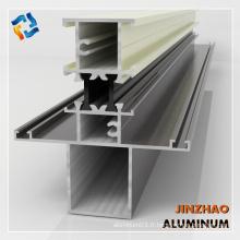 Profil d'aluminium extrudé profil d'extrusion d'aluminium