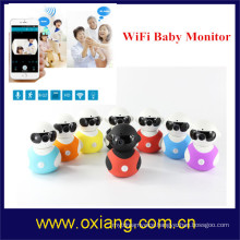 Baby Monitor with Wireless Security Camera 2 Way Talk Audio IR LED Night Vision