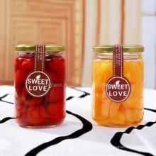 350ml rodada preservar jarros de vidro para alimentos, pickle