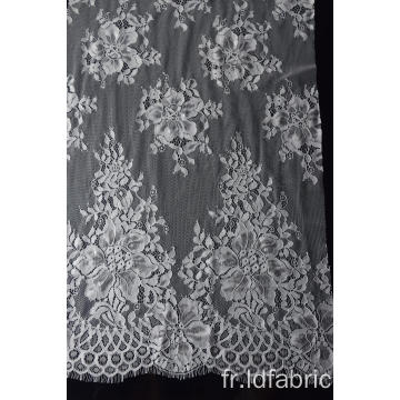 100% Nylon Panel Lace Fabric Design-F