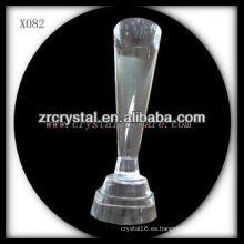 Premio de cristal en blanco K9 X082