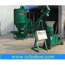 Línea de producción de pellets de piensos pequeños para uso en granja