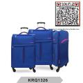 Ultra Light 4wheels Nylon Soft Luggage (KRQ1326)