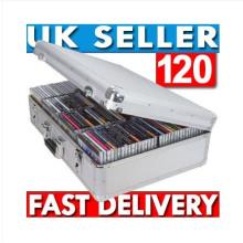 New Aluminium 120 CD DVD DJ Flight Storage Case