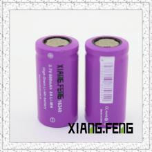 3.7V Xiangfeng 16340 600mAh 8A Batterie lithium rechargeable Imr Les meilleures batteries rechargeables