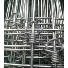 Clôture de champ galvanisé creusé à chaud / clôture de mouton / clôture de prairie