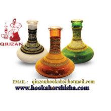 Klare Flachglas Shisha Vase Shisha Flaschen