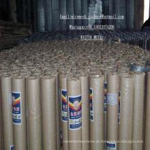Rede de arame soldada galvanizada Ss de 1/4 de polegada para o processamento adicional