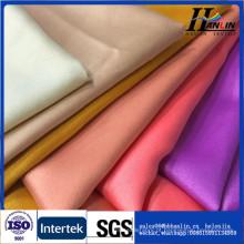 Home têxtil 100% poliéster rosette design seda-como tecido de cetim para toalha de mesa