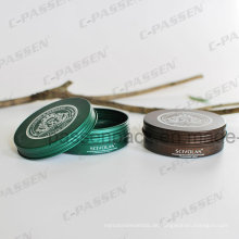 Bedrucktes Metall-Aluminium-Kosmetik-Cremetopf