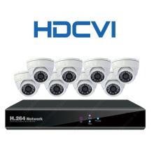 1080P / 720p Hdcvi IR CCTV Cámaras Proveedores Cámara de seguridad con 8CH DVR Kit