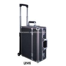 nouvelle arrivée--luxe portable aluminium bagage trolley en gros de l'usine de la Chine