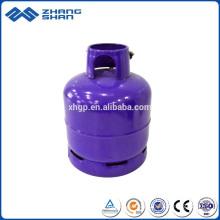 Cylindre de gaz à bas prix de sécurité en aluminium d'oxygène à haute pression de valve