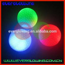 bolas de golfe de flash led brilhantes