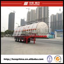 Cargas perigosas químicas, semi-reboque tanque caminhão à venda