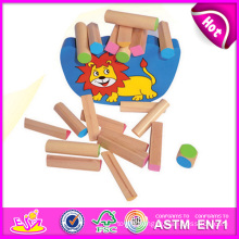 2014 New Wooden Block Balance Kid Toy Set, Funny Balance Kid Toy Game, Educational Toy Wooden Balance Kid Toy W11f036
