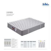 Pole Pocket spring Soft Hotel Mattress