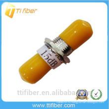 ST 15 дБ Фиксированный оптический аттенюатор для телекоммуникаций