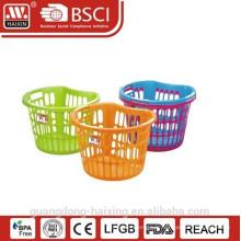 Basket(38L) blanchisserie en plastique de vente chaude