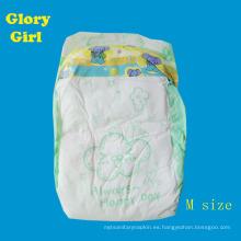 El día de la hoja superior de algodón transpirable nos usa fabricantes de pañales de bebé soñoliento de china