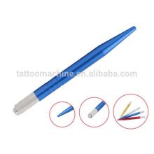 Colorful Permanent Professional Makeup Tools Tattoo Eyebrow Pen 12.0 cm