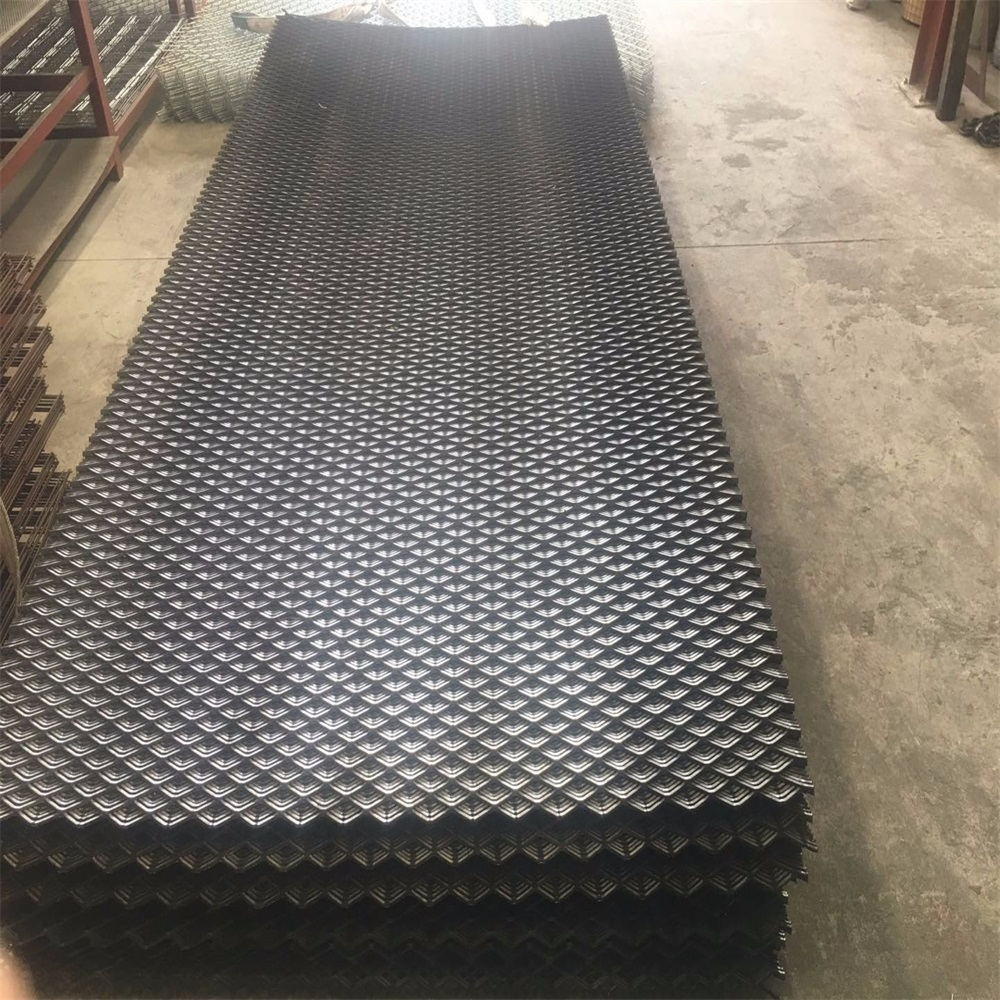 Painted Expanded Metal Mesh