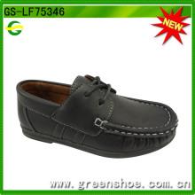 Heißer Verkauf Großhandel Loch Kinder Schuhe Junge (GS-LF75346)
