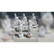 Wholesale large marble sakyamuni buddha statue for temple