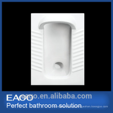 EAGO high quality ceramic back tray way Squat pan without elbow DB3090