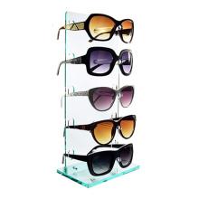 Desktop Free Standing Eyewear Case Sunglasses Holder Acrylic Eyeglasses Display Rack