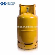 Yuhang Zhangshan Hersteller Tragbare 12,5 kg LPG Gasflasche Stahltanks