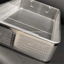 Medical Perforated Metal Plate Basket