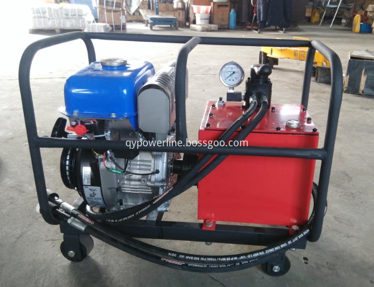 hydraulic crimp machine