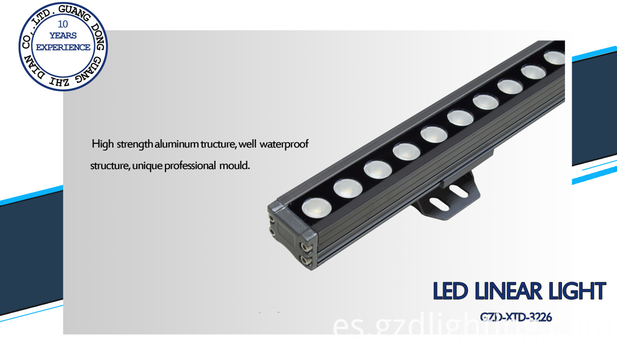 led linear light IP65