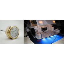 27W Blue Surface Mounted LED Drain Plug Marine Light
