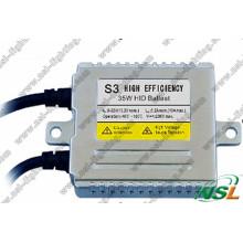 Kitbalastos de xenón HID delgados digitales Wide V S3 35 W 9-32 V de alta eficiencia