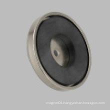 Ceramic Pot Magnet Nikel Coated