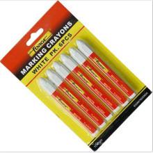 Marcador impermeável não tóxico da marcação do lápis da marcação do marcador 6PCS